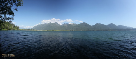 Lake Quinault - Click to zoom !