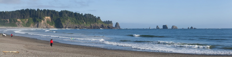 LaPush Beach - Click to zoom !