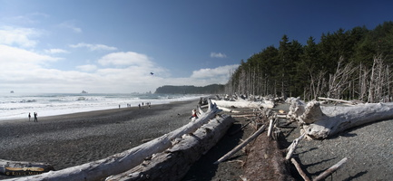 Rialto Beach - Click to zoom !