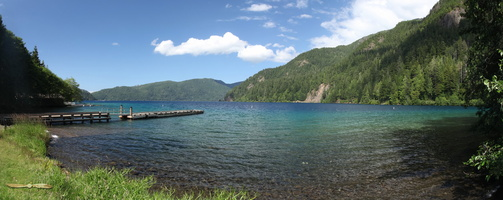 Lake Crescent - Click to zoom !