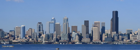 Seattle Skyline - Click to zoom !