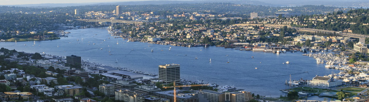 Lake Union - Click to zoom !
