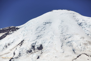 Mt Rainier summit & crater