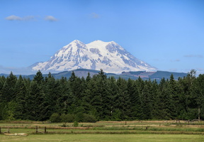 Mount Rainier from Eatonville - Click to Zoom