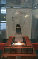 Kelly Johnson trophy, for outstanding achievement in the field of flight test engineering