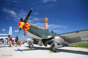 "North American P-51B Mustang ""Old Crow"""