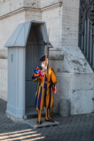 Swiss guard of the Vatican