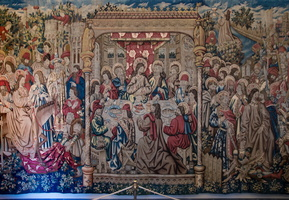 Passion of the Christ - Flemish tapestry XVIth century