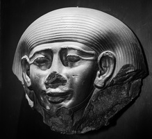Mask of a sacrophagus of a priest Psammetek, Memphis, XXVI dynasty