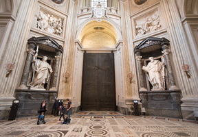 Main entrance of St John Lateran