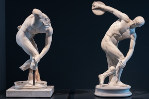 Discobolus of Castelporziano and of Lancelotti