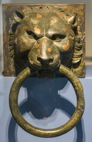 Bronze sculptural decorations from the Imperial ships found in Lake Nemi, 1st BC
