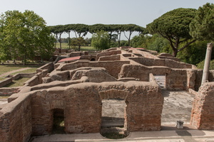 Baths of Neptune and barracks of the brigade