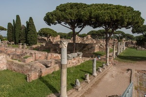 Forum and baths of the forum