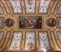 Ceiling of the Emperors Room - Triumph of Galatea (de Angelis, 18th AD)