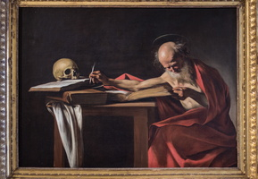 Saint Jerome (Caravaggio, 17th AD)