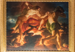 Death of Hercules (Unterberger, XVIIIe)