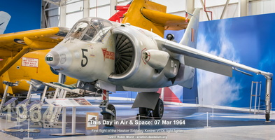 Hawker Siddeley FGA.1 Kestrel - RAF Museum, Cosford, UK