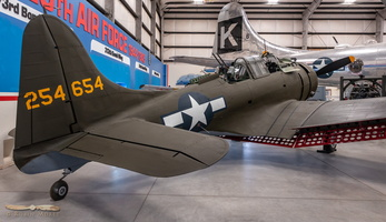 Douglas A-24 Banshee (Air Force version of Dauntless)