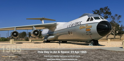 Lockheed C-141B Starlifter - Travis Heritage Center, Fairfield, CA